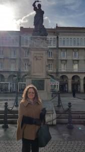 Ditar en plaza María Pita